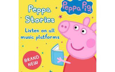 HASBRO UNVEILS NEW PEPPA PIG AUDIO STORIES LAUNCHING ON DIGITAL STREAMING PLATFORMS