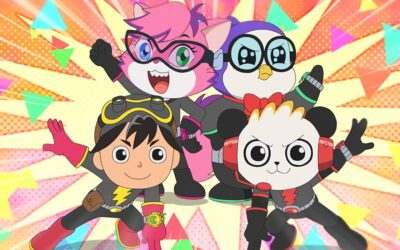 POCKET.WATCH & SUNLIGHT ENTERTAINMENT ANNOUNCED COLLABORATION WITH AMAZON KIDS+