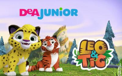 LEO&TIG LAUNCH ON THE ITALIAN CHANNEL DEA JUNIOR!