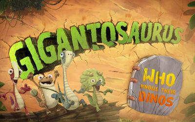 """""""GIGANTOSAURUS- WHO KNOWS THEIR DINOS"""" PREMIATO AI CYNOPSIS DIGITAL"""