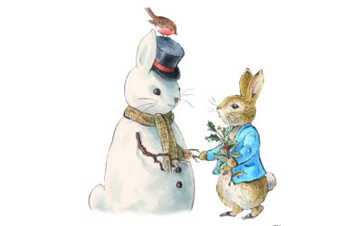 FESTIVE CHEER FROM PETER RABBIT