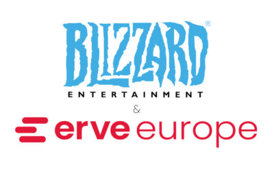 ERVE EUROPE ADDS BLIZZARD ENTERTAINMENT'S OVERWATCH AND WORLD OF WARCRAFT TO ITS GAMING PORTFOLIO