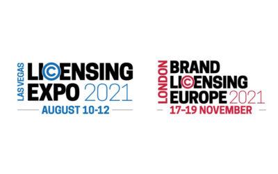 CONFERMATE LE NUOVE DATE PER LICENSING EXPO E BRAND LICENSING EUROPE 2021