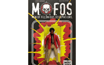 M.O.F.O.S PLASTIC ACTION FIGURES ARRIVED