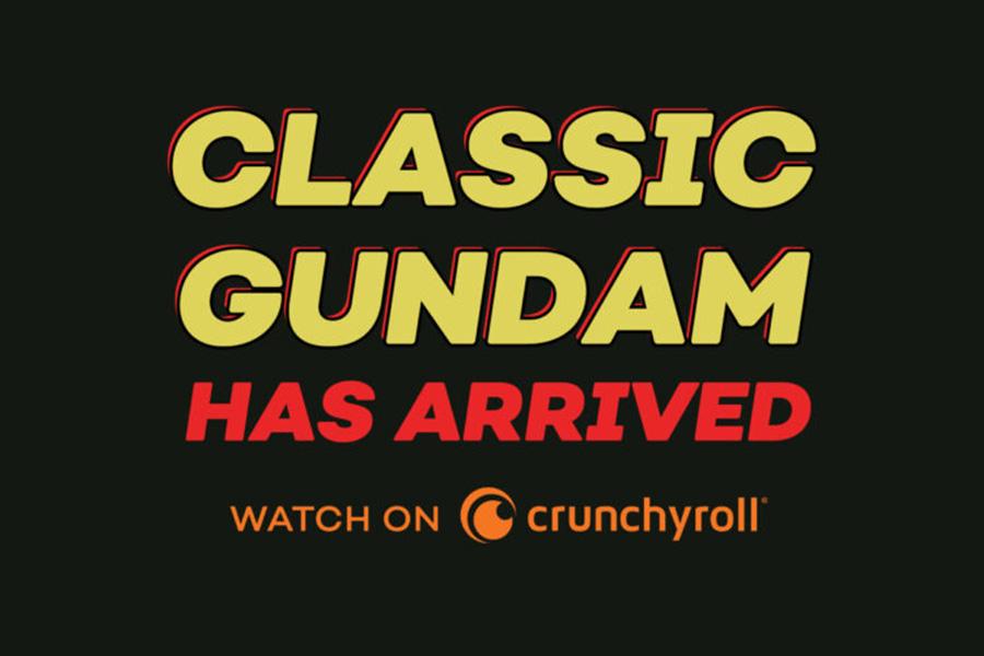 "CLASSIC ""MOBILE SUIT GUNDAM 0079"" PREMIERES ON CRUNCHYROLL"