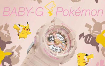 G-SHOCK UNVEILS LATEST BABY-G COLLABORATION WITH POKÉMON