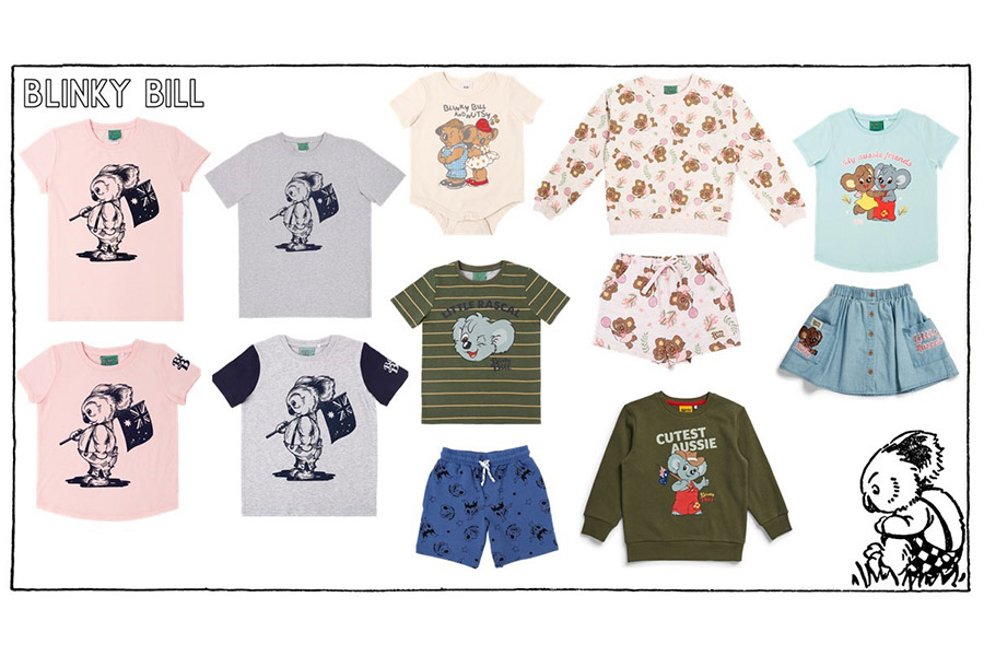BLINKY BILL PARTNERS WITHCAPRICE AUSTRALIA AND COTTON AUSTRALIA FOR EXTENSIVE FIRST EVER BIG W RANGE