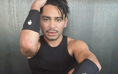 PLASTER PARTNERS SIGNS INSTAGRAM FITNESS SENSATION ISSAC BOOTS FOR EXCLUSIVE MANAGEMENT
