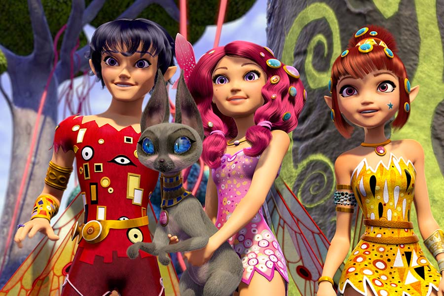 STUDIO 100 GROUP'S MIA AND ME HAVE A GREAT SUCCESS IN BRAZIL