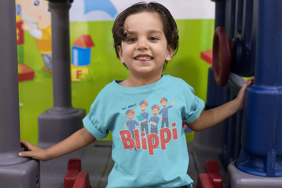 POETIC BRANDS READIES BLIPPI APPAREL COLLECTION