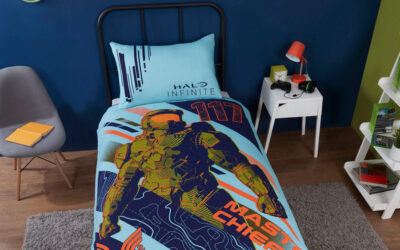 DREAM OF HALO AND XBOX IN COMFORT WITH THE RELEASE OF NEW HALO AND XBOX BEDDING SETS