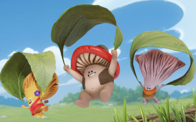 LA CABANE, THURISTAR AND CAKE'S FUN-GUS COMEDY ADVENTURE MUSH-MUSH & THE MUSHABLES SET TO LAND ON CARTOONITO IN THE US