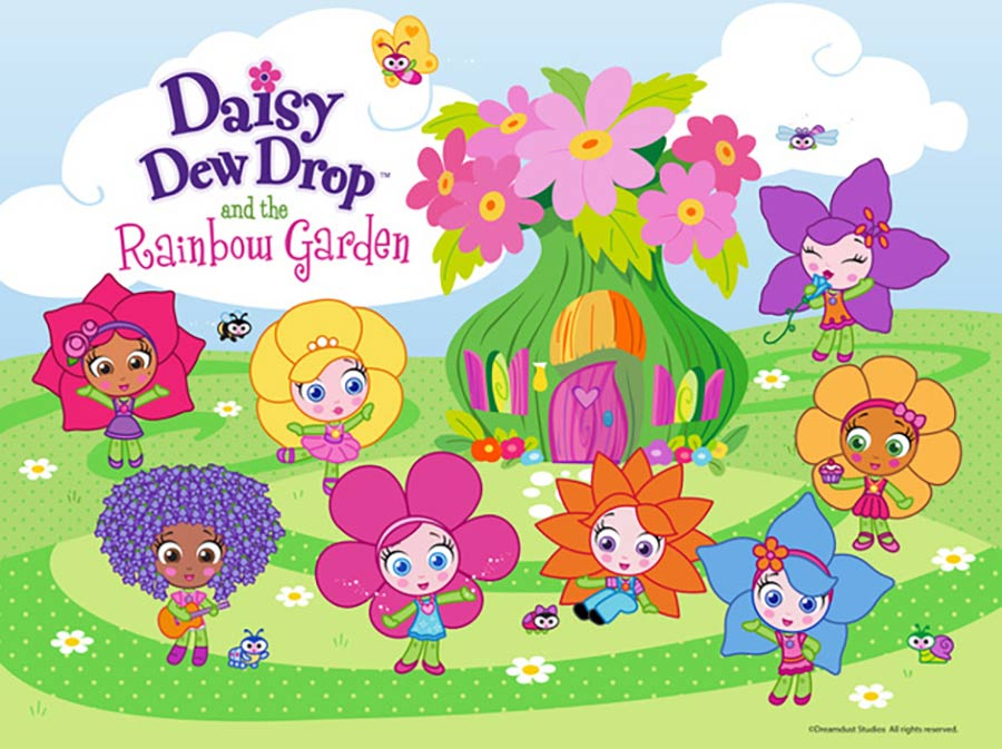 "DREAMDUST AND TOONZ MEDIA TEAM-UP TO DEVELOP A NEW ANIMATED SERIES BASED ON ""DAISY DEW DROP & THE RAINBOW GARDEN"""