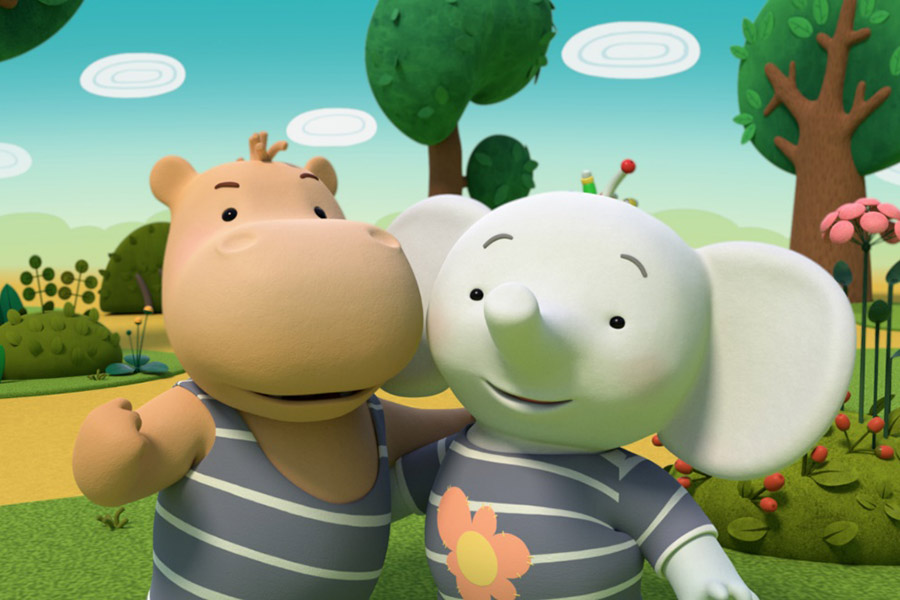 FUNWOOD MEDIA PRESENTS TINA & TONY: AN ELEPHANT AND A HIPPO FRIENDS FOREVER