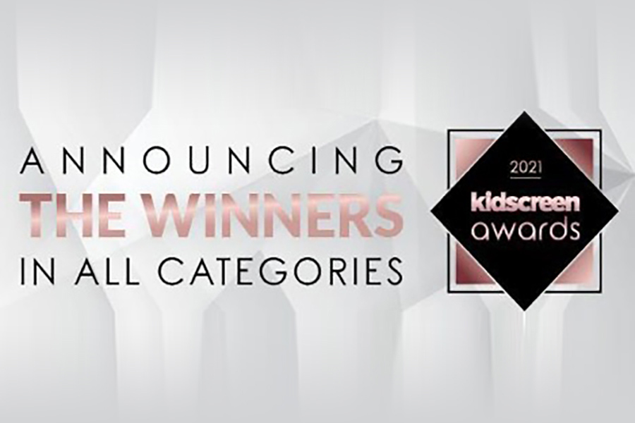 ANNOUNCED THE KIDSCREEN AWARDS WINNERS