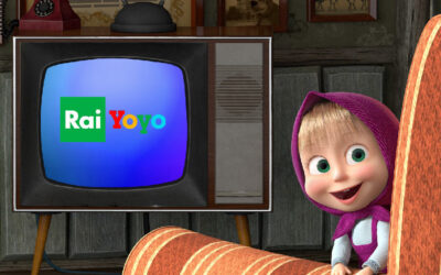 RAI SIGNED THE MEDIA DEAL FOR BROADCASTING THE NEW SEASON OF MASHA AND BEAR IN ITALY