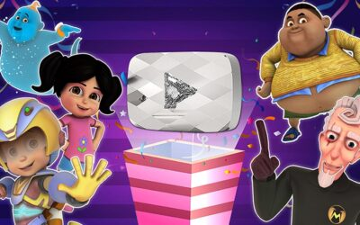 COSMOS-MAYA'S WOW KIDZ ACTION AWARDED YOUTUBE DIAMOND PLAY BUTTON