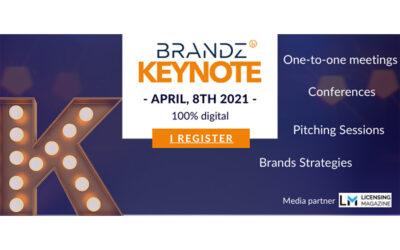 2ND EDITION OF THE BRANDZ KEYNOTE ON APRIL, 8TH 2021