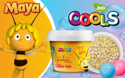 PLANETA JUNIOR AND COOLS GROUP INK A DEAL TO LOUNCH MAYA THE BEE BIO ICE CREAMS IN POLAND
