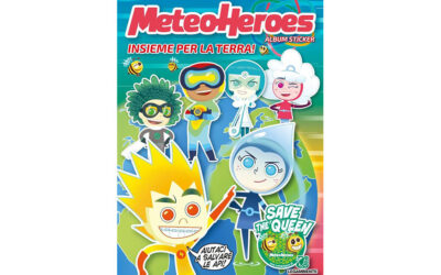 METEOHEROES: THE FIRST COLLECTION OF FIGURINES TO SAVE THE PLANET IS OUT