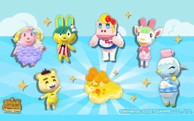 ITEMS, CLOTHING AND NEW RESIDENTS INSPIRED BY SANRIO CHARACTERS COME TO ANIMAL CROSSING: NEW HORIZONS AND ANIMAL CROSSING: POCKET CAMP