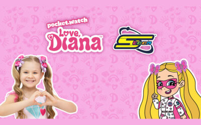 """SPACETOON IS NAMED AS THE MASTER CP LICENSING AGENT FOR """"LOVE, DIANA"""" IN MENA BY POCKET.WATCH"""