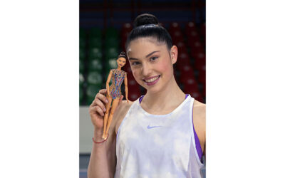 BARBIE CELEBRATES GYMNAST MILENA BALDASSARRI