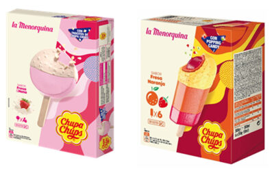 CHUPA CHUPS WITH LA MENORQUINA TO CELEBRATE ITS 80TH ANNIVERSARY