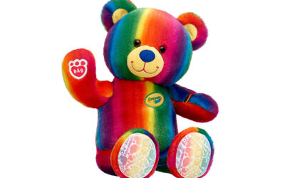 BUILD-A-BEAR WORKSHOP® AND CRAYOLA® TOGETHER FOR A NEW COLLECTION