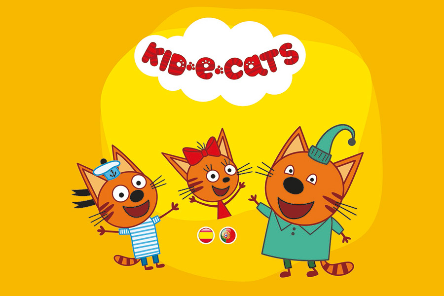 EL OCHO NAMED LICENSING AGENT FOR MASHA AND THE BEAR AND KID-E-CATS
