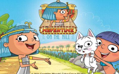 NEFERTINE'S ADVENTURES ARE COMING TO RAIPLAY AND RAI YOYO FROM ANCIENT EGYPT