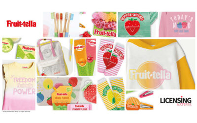 FRUIT-TELLA CON LICENSING MATTERS GLOBAL PER ESPANDERSI IN EUROPA