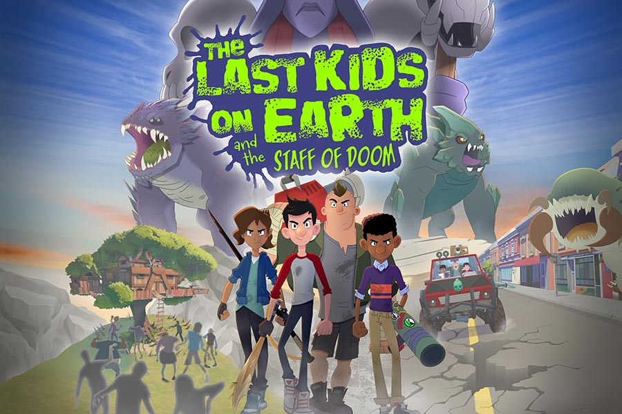 'THE LAST KIDS ON EARTH AND THE STAFF OF DOOM' VIDEO GAME LAUNCHES JUNE 4th 2021