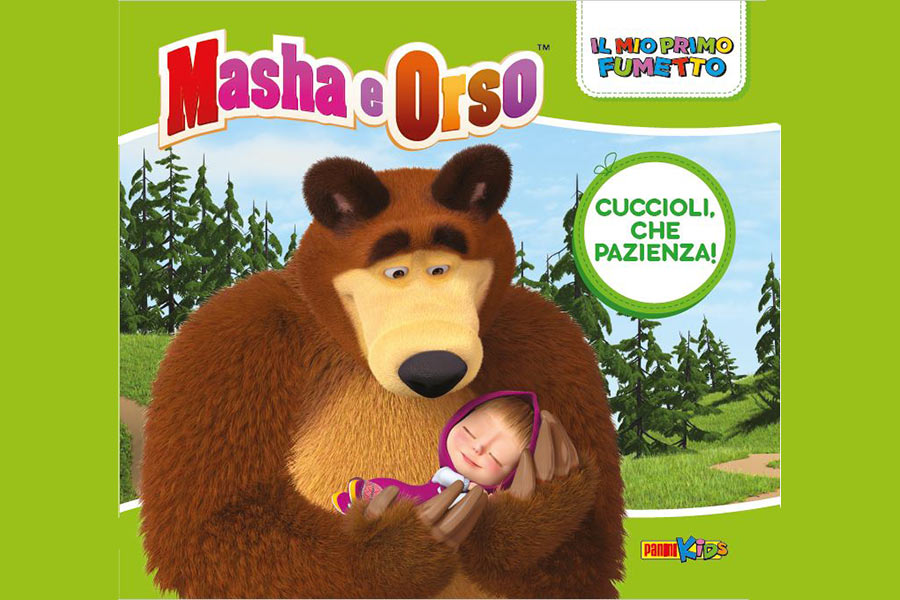 SOON THE NEW MASHA AND THE BEAR OFFICIAL MAGAZINES AND COMIC BOOKS