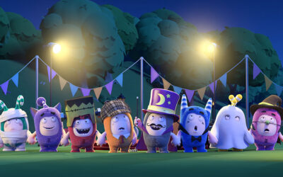 ONE ANIMATION'S ODDBODS SI VESTE CON RUBIES COSTUME COMPANY