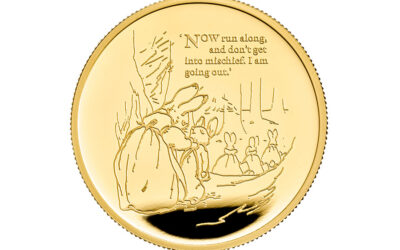PETER RABBIT™ ON A BRAND-NEW COIN AT THE ROYAL MINT