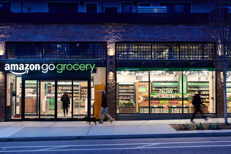 AMAZON AND ITS NEW INNOVATIVE STORES IN LONDON