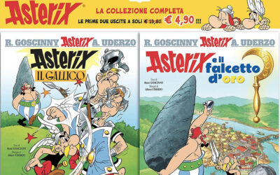 NOW AVAILABLE IN ITALY THE COMPLETE COLLECTION OF ASTERIX'S ADVENTURES