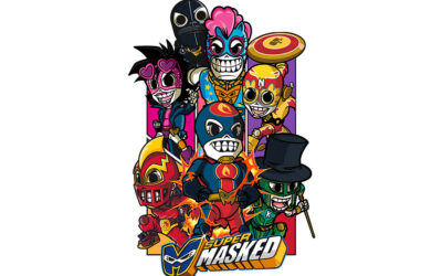 DIC 2 AND MAYA STUDIO TOGETHER FOR THE LAUNCH OF SUPERMASKED AND CATRINAS UNDERWORLD IN ITALY