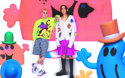 GCDS CHOSE MR MEN LITTLE MISS FOR A SPECIAL CAPSULE COLLECTION