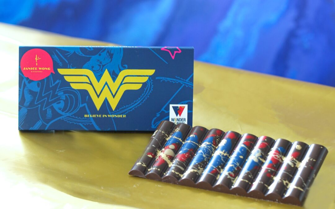 WARNER BROS. CONSUMER PRODUCTS TEAMS UP WITH CONFECTIONER JANICE WONG TO LAUNCH WONDER WOMAN CHOCOLATES