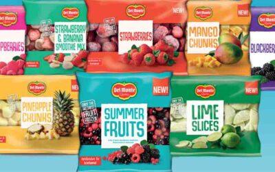 DEL MONTE® AND ICELAND LAUNCH NEW & EXCLUSIVE FROZEN FRUIT RANGE