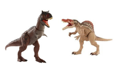 NEW MATTEL PRODUCTS INSPIRED BY THE JURASSIC WORLD SERIES