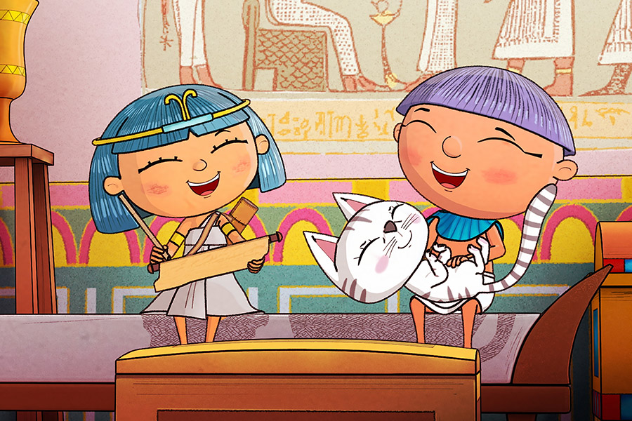 A NEW ANIMATED SERIES SET IN THE SHADOW OF THE PYRAMIDS