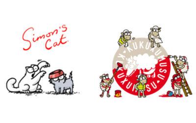 ZEN WORKS AND HAL CREATIVE STUDIO SEEK LICENSEES FOR SIMON'S CAT AND KUKUXUMUSU