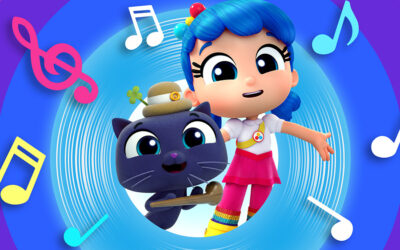 bRAND-WARD SIGNS GLOBAL DEAL WITH WARNER MUSIC FOR GURU STUDIO'S TRUE AND THE RAINBOW KINGDOM