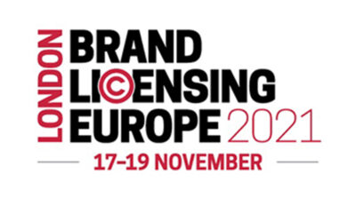 BRAND LICENSING EUROPE ANNOUNCES BIG NAMES AS THE 2021 EXHIBITOR LIST IS UNVEILED