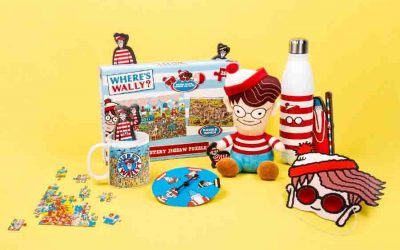 WHERE'S WALLY? THE HUNT IS ON WITH FIZZ CREATIONS