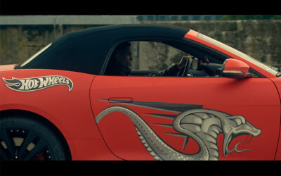 THE OFFICIAL VIDEO OF KOBRA, IN COLLABORATION WITH HOT WHEELS, IS NOW AVAILABLE