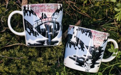 THE NEW LIMITED EDITION MOOMIN'S DAY 2021 MUG PORTRAYS THE FIRST DAY OF SPRING